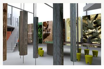 Inrichting bezoekerscentrum Het Vinne (Zoutleeuw)